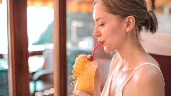 Drink Liquids With A Straw With Invisalign