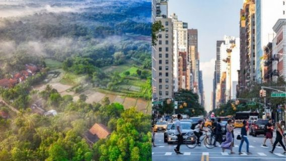 Difference Between Lifestyle Of Village And City
