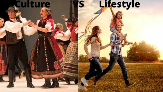 Difference Between Culture And Lifestyle
