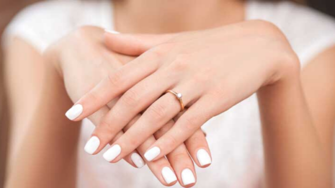 Wear A Ring On Her Left Hand